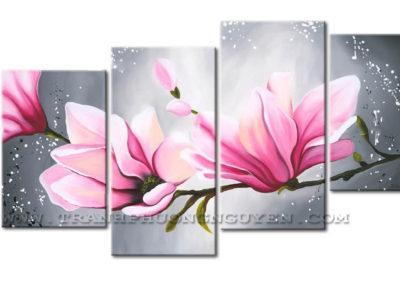 tranh bo hoa lan