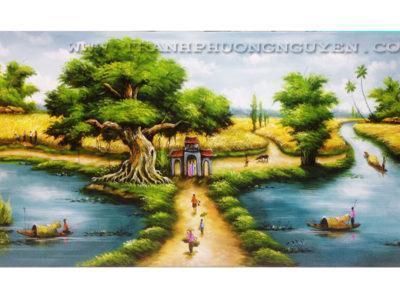 tranh phong canh nuoc ngoai11