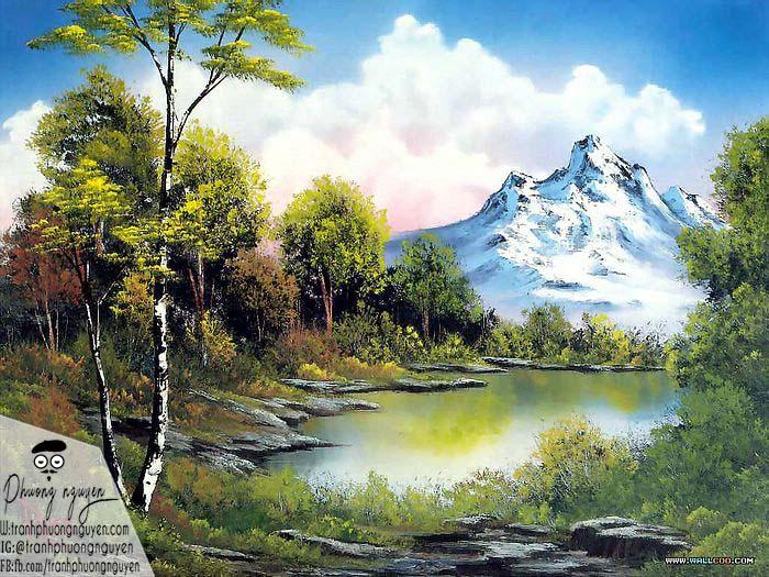 Tranh phong cảnh núi nước ngoài