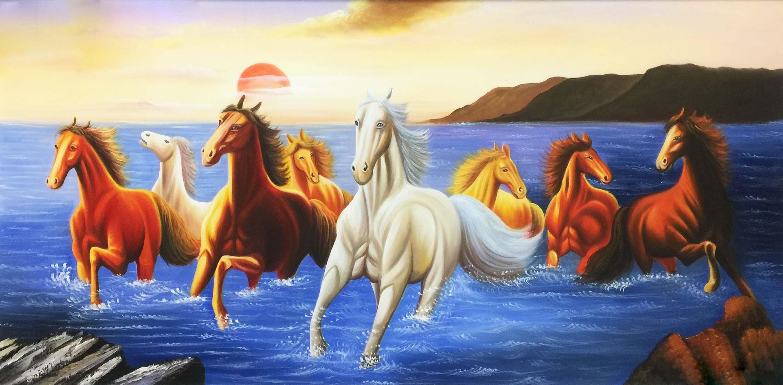 Tranh ngựa bát mã hợp với người mệnh thổ