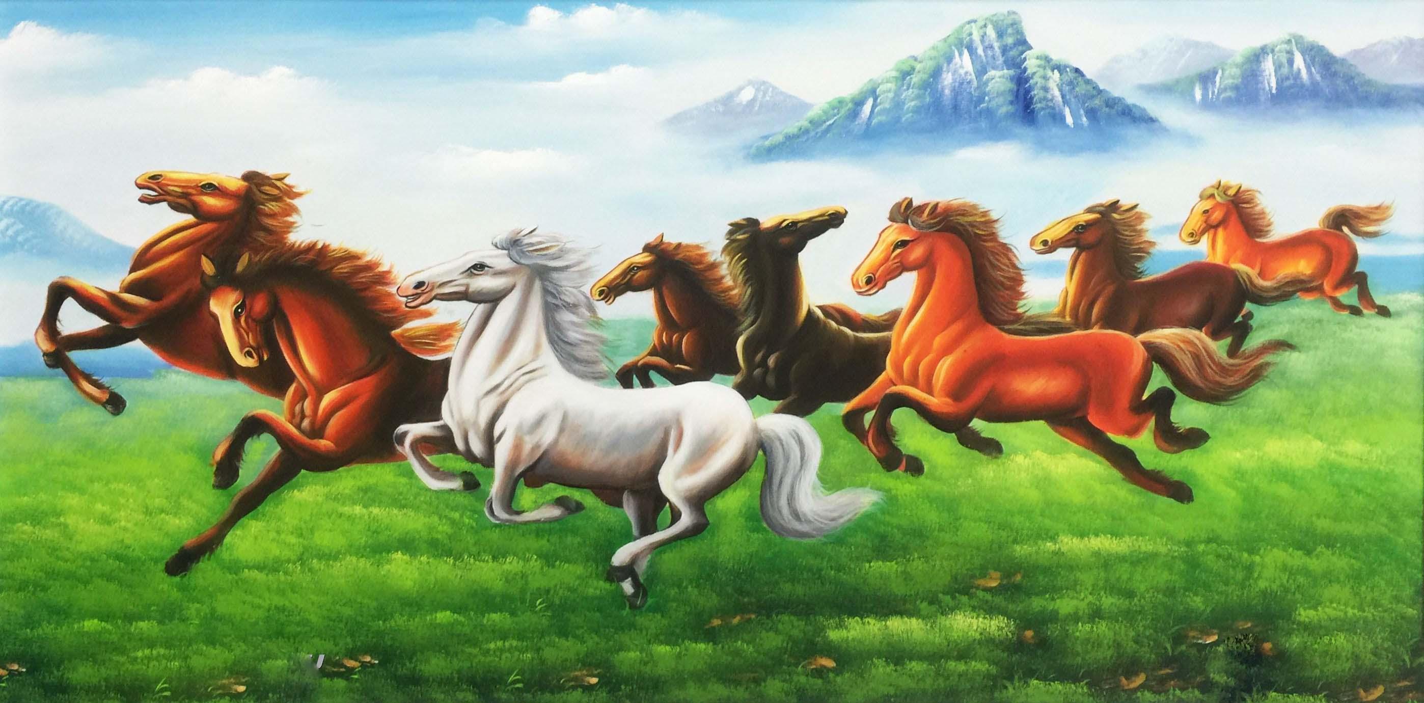 Tranh Ngựa Hợp Cho Người Mệnh Thổ
