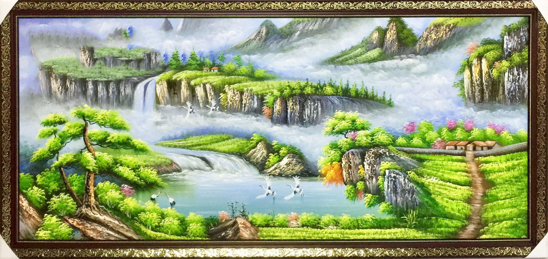 Tranh phong cảnh trung quốc đẹp
