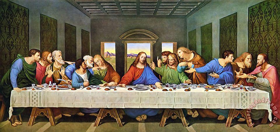 Bức danh họa The last Supper ( Bữa tiệc ly cuối cùng)
