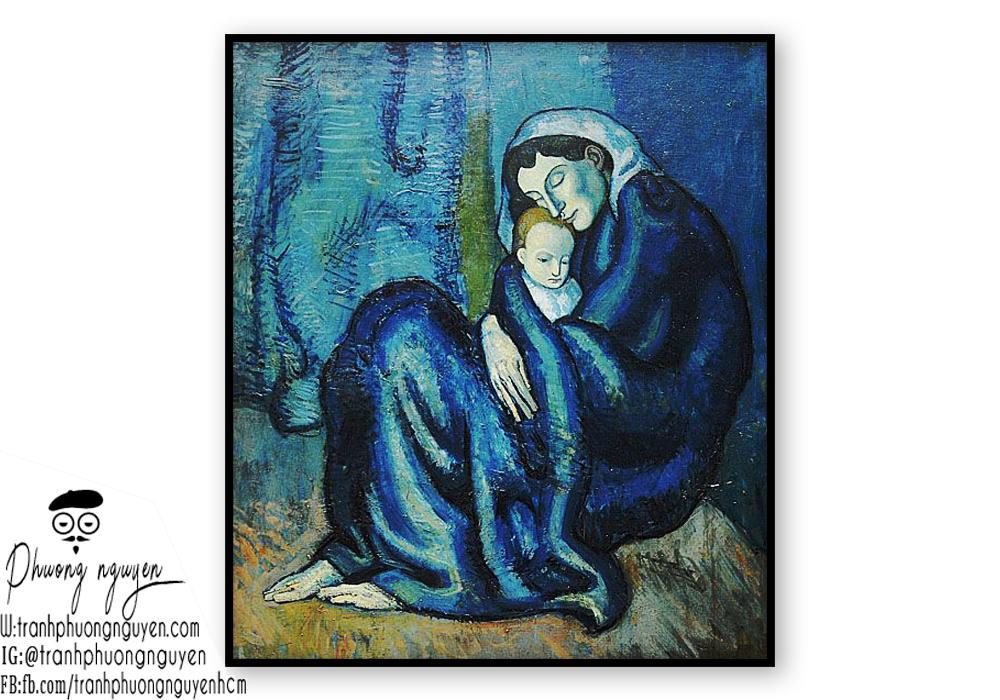 Tranh sơn dầu về mẹ đẹp nhất