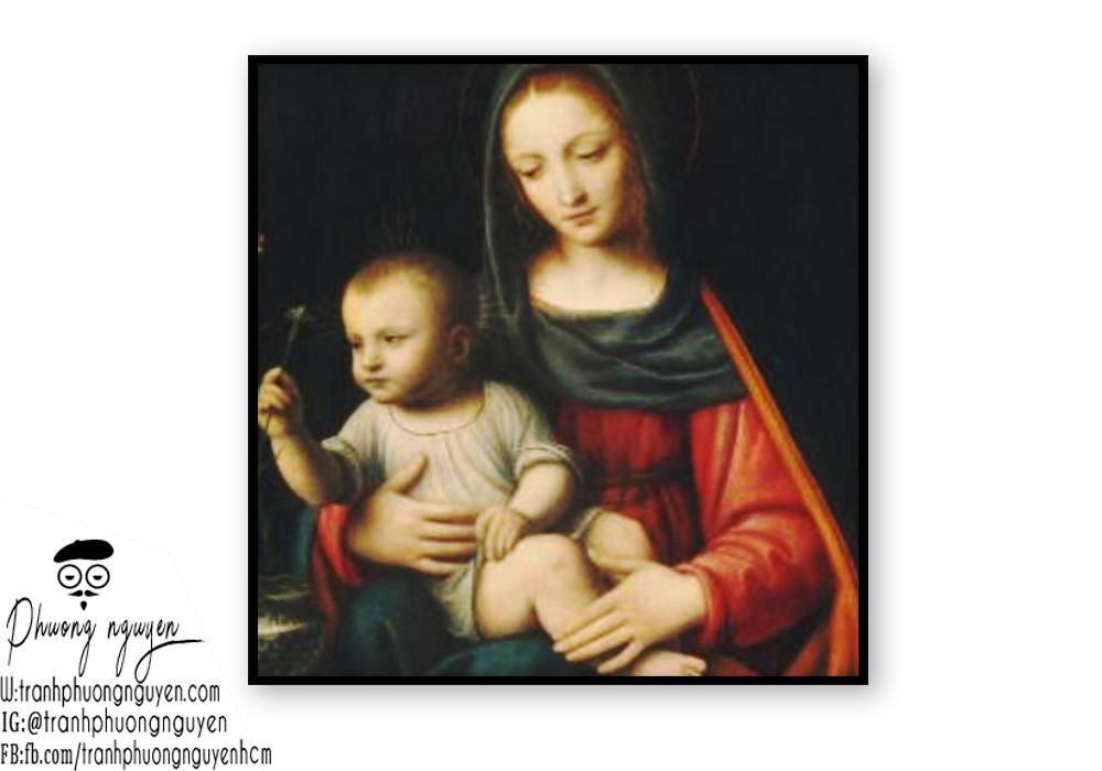 Tranh vẽ về mẹ thiên chúa giáo