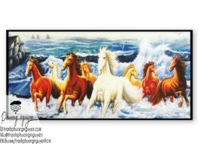 Ngựa bát mã phú quý - PN1206