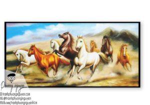 Ngựa bát mã phú quý - PN1207