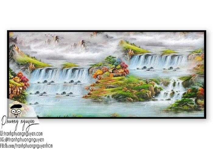 Tranh phong cảnh thiên nhiên núi rừng- PN1108