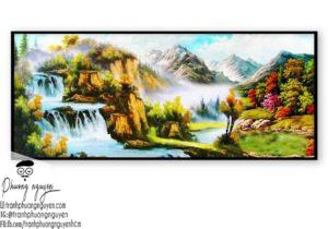 Tranh phong cảnh sơn thủy hữu tình - PN1085