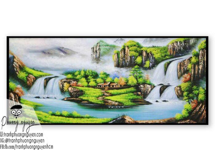 Tranh vẽ rừng núi đẹp nhất- PN1130