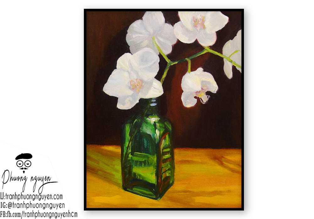 Tranh hoa lan  - PN1411