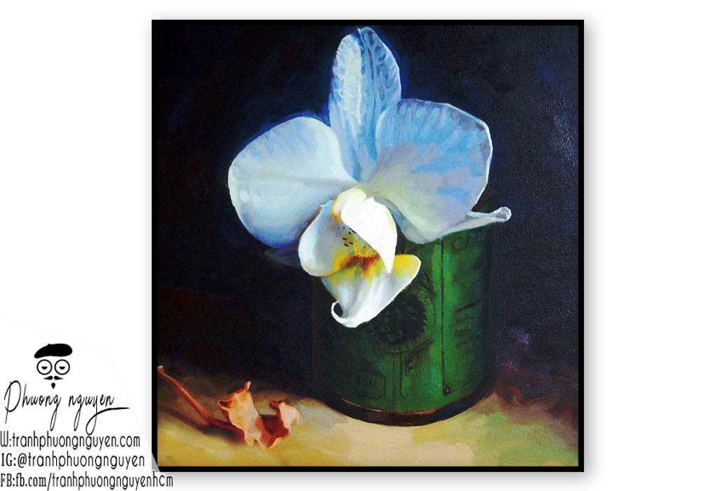 Tranh hoa lan  - PN1412