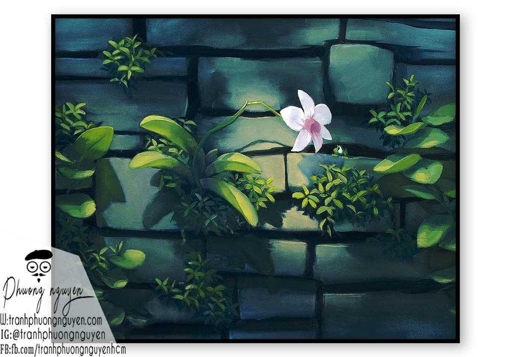 Tranh hoa lan  - PN1413