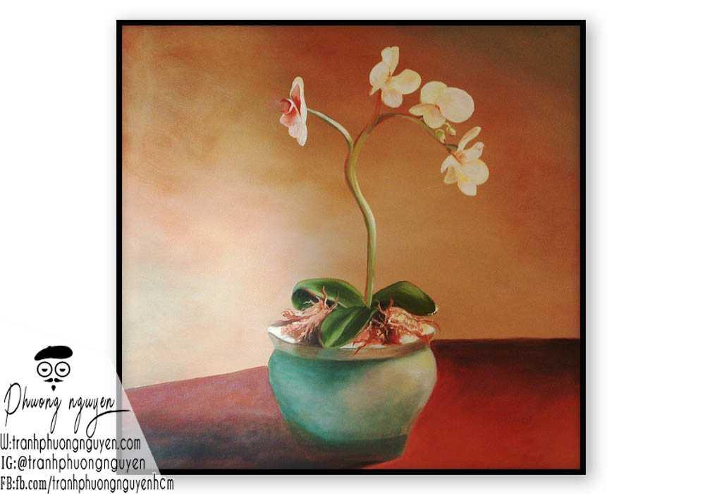 Tranh hoa lan - PN1416