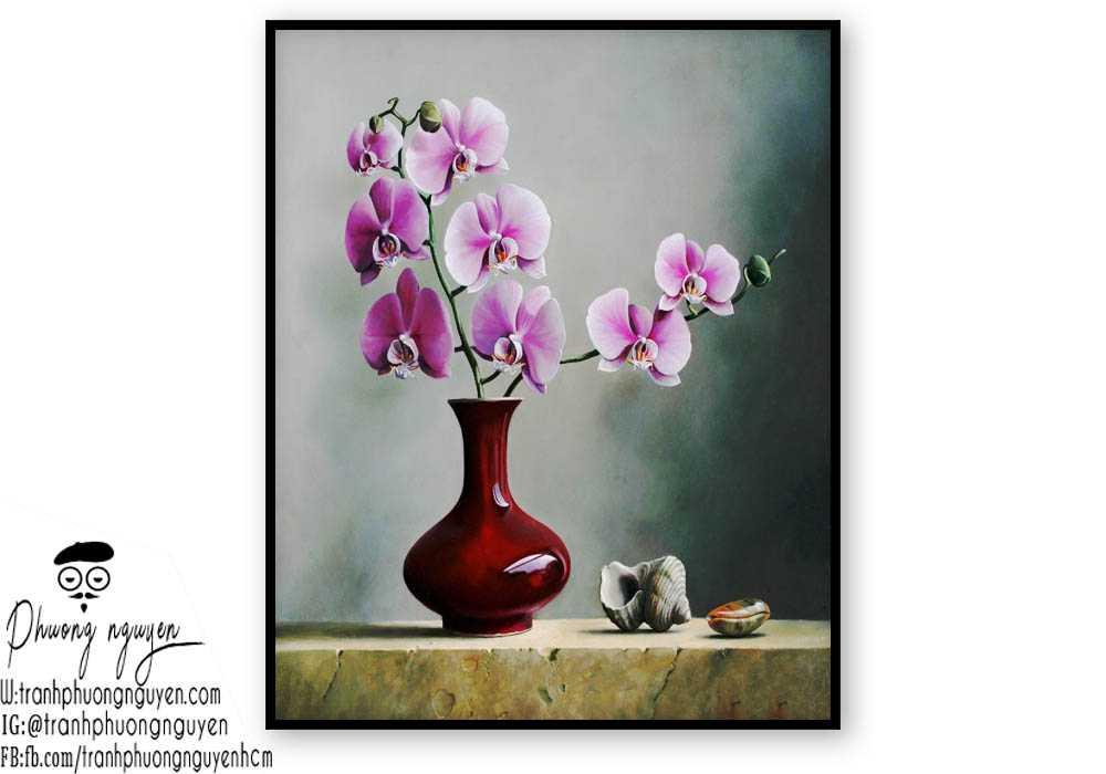 Tranh hoa lan - PN1421