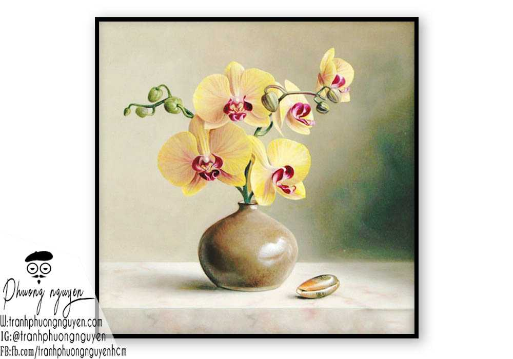 Tranh hoa lan  - PN1422