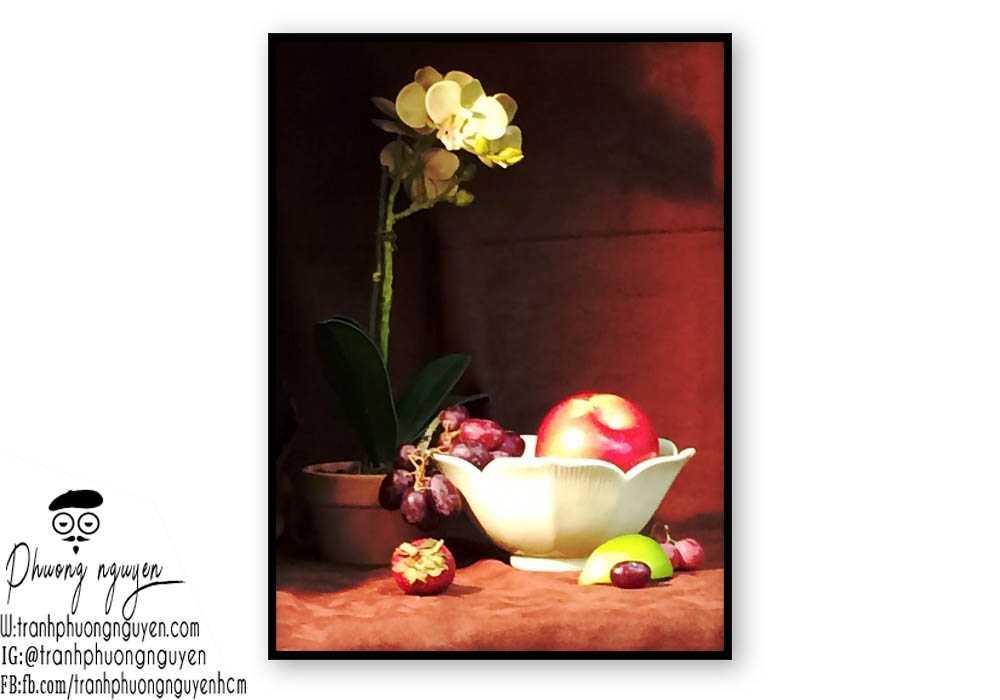Tranh hoa lan - PN1423