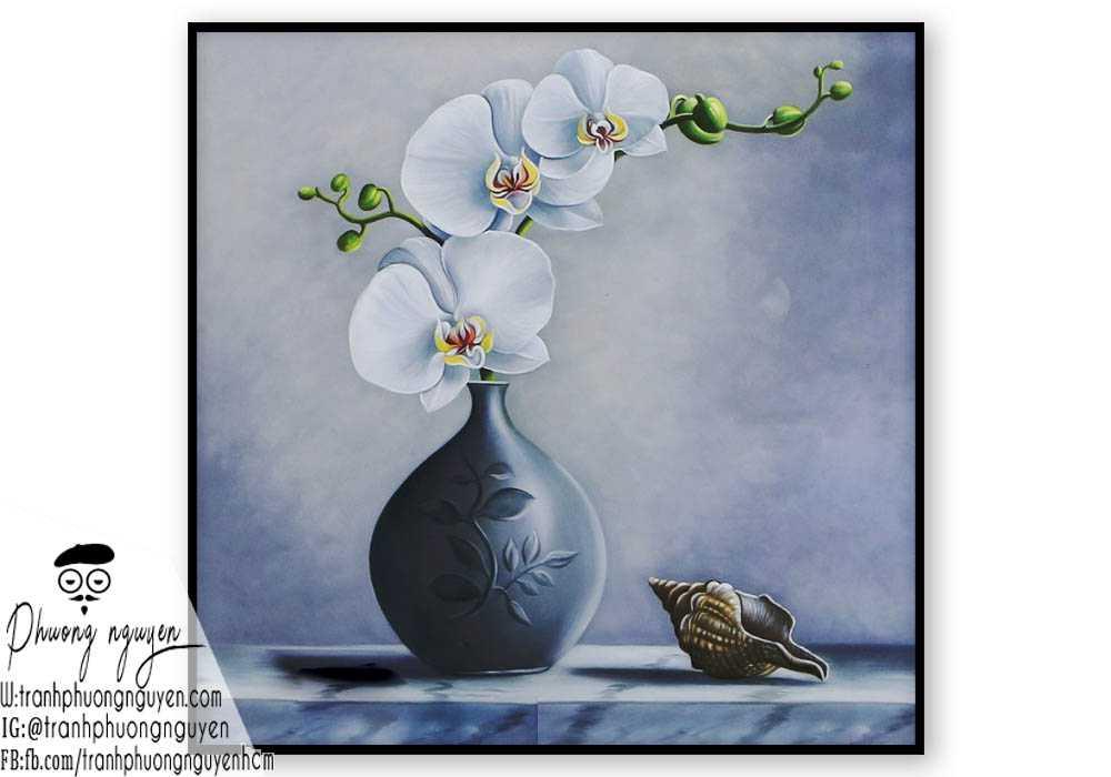 Tranh hoa lan - PN1433