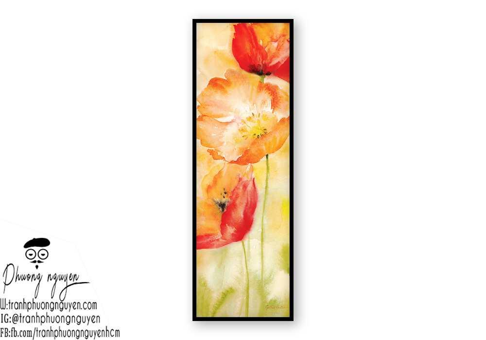 Tranh sơn dầu hoa cúc - PN1440
