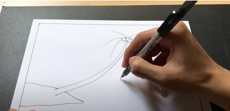ve tranh phong canh bien (1)
