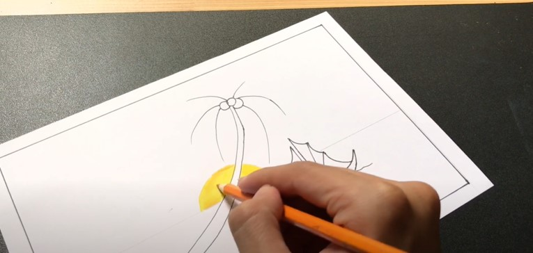ve tranh phong canh bien (5)